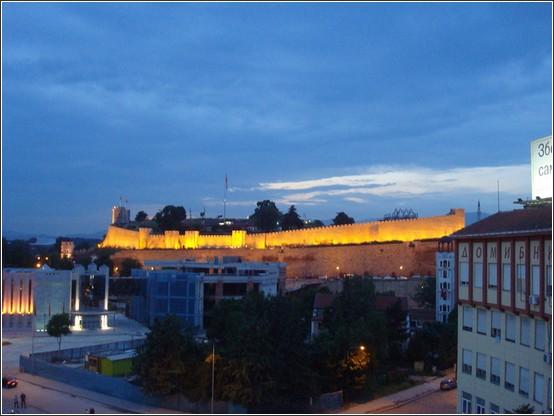 Skopje forteresse Kale