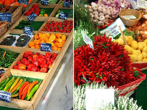 Viktualienmarkt munich muenchen Legumes