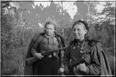 Femmes soldats Armee rouge