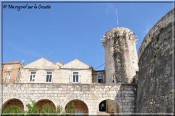 Korcula forteresse