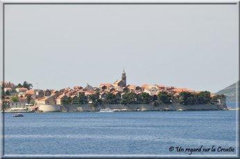 Korcula ville et port