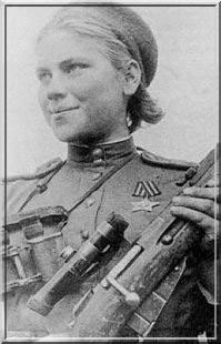 Roza Yegorovna Shanina sniper