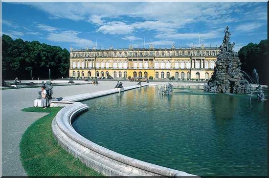 Herrenchiemsee Chateau de baviere