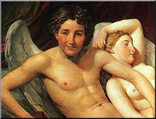 jacques louis david- amour et psyche