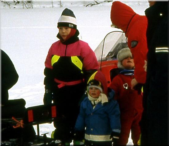 laponie finlande enfants