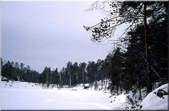 laponie finlande piste