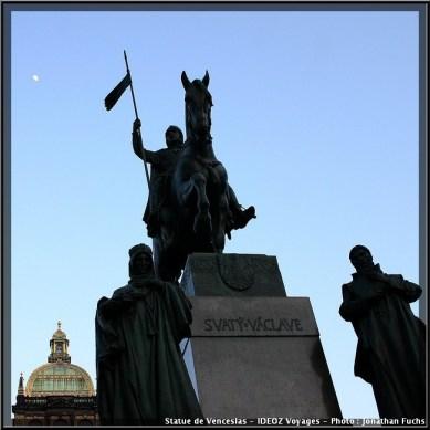 prague Statue saint venceslas