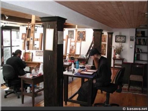 Crna reka moines au travail