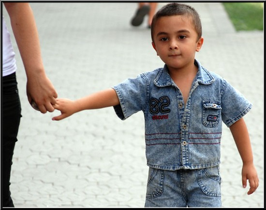 Erevan enfant armenien