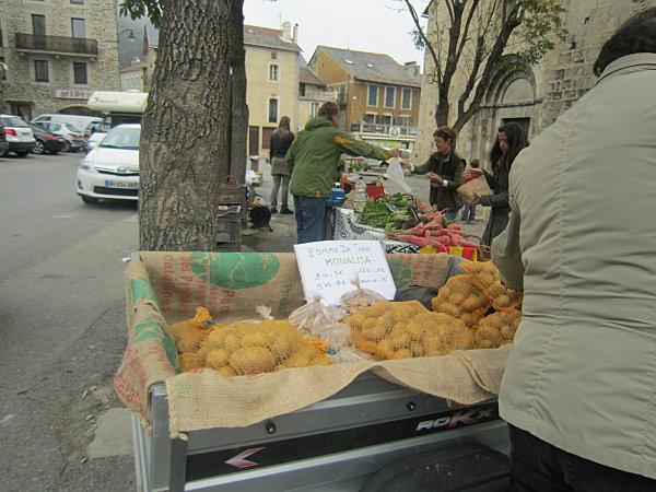 Formigueres marché des legumes