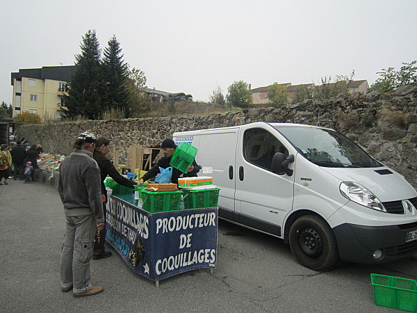 Formigueres producteur de coquillages