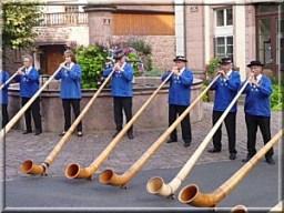 Riquewihr musiciens traditionnels d'alsace