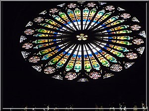Strasbourg alsace cathedrale vitrail