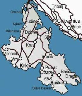 carte Krk