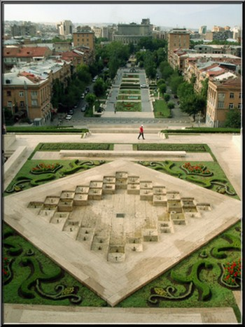 erevan armenie opera esplanade