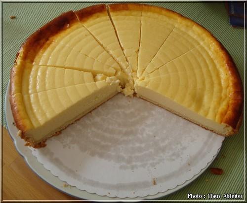 recette Kasekuchen allemand gateau au fromage