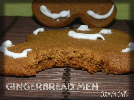 gingerbread men recette americaine