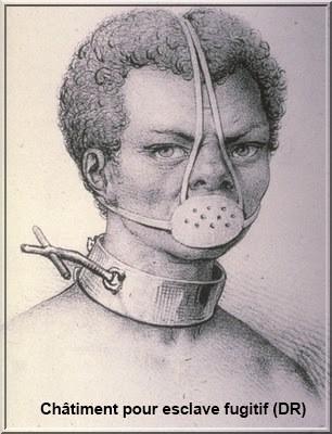 chatiment esclave fugitif