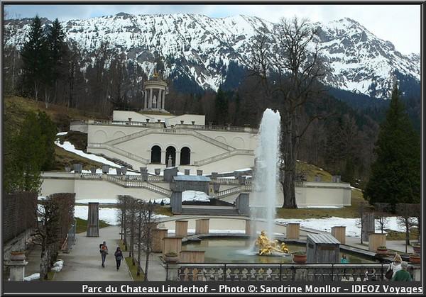 parc chateau linderhof