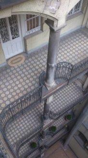 budapest colonnes etages