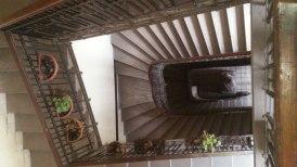 budapest escaliers en perspective