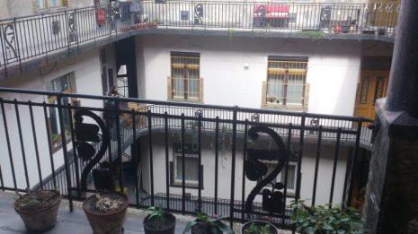 budapest grilles balcon cour
