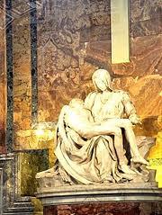 vatican statue piete