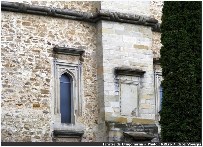 dragomirna monastere roumanie fenetre