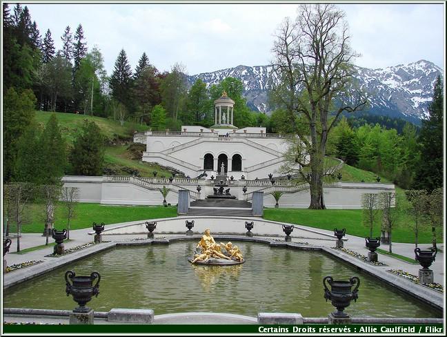 linderhof fontaine belvedere
