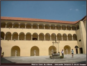 mokrice cours chateau slovenie