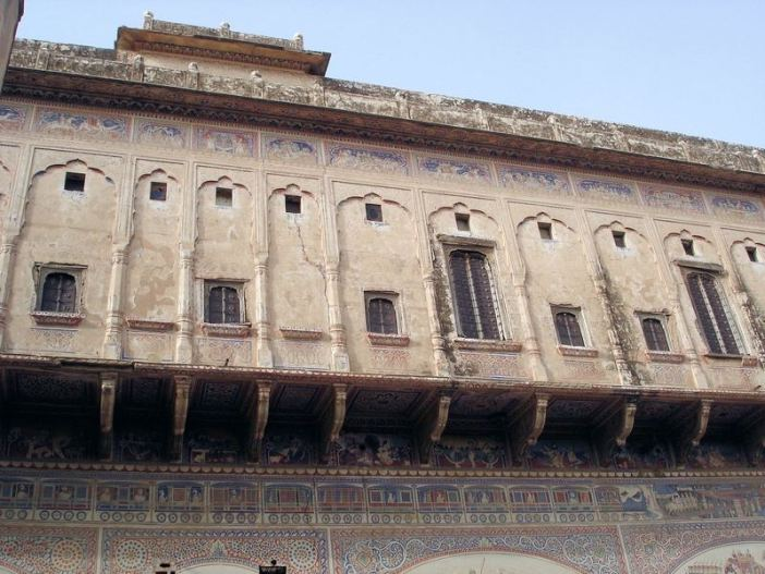 rajasthan havelis palais facade