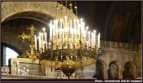 sofia cathedrale Sainte Nedelja candelabre