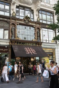 La boutique J. & L. Lobmeyr