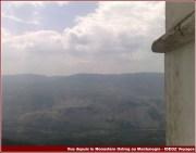 montagne montenegro depuis ostrog