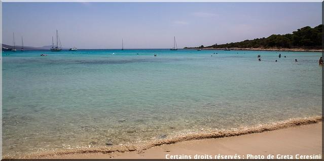 plage dugi otok croatie
