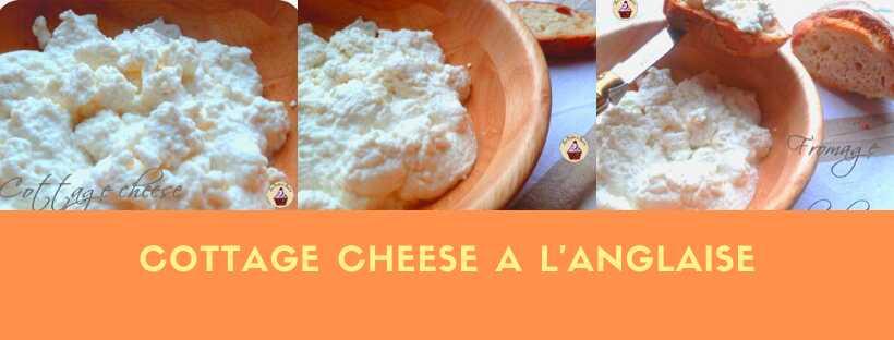 Cottage cheese au fromage de chèvre a l'anglaise