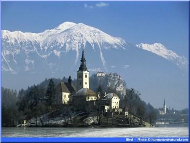 bled slovenie alpes