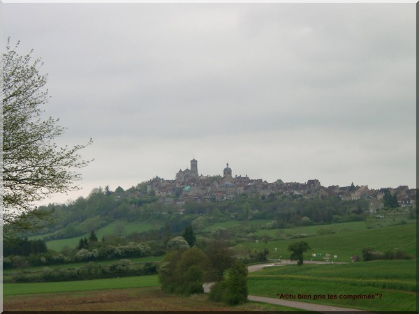 vezelay chatel chemin ouest