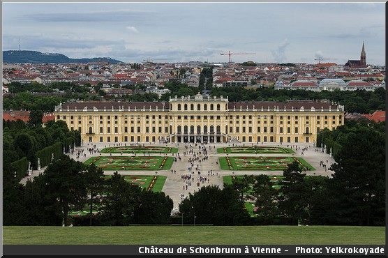 vienne chateau schonbrunn