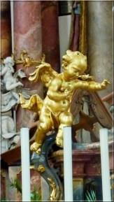Abbaye Ottobeuren ange dore