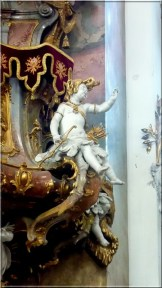 Abbaye Ottobeuren statue ange