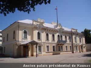 Kaunas Palais presidentiel