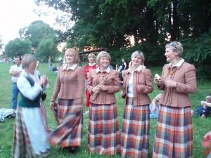 Kernavé solstice en lituanie