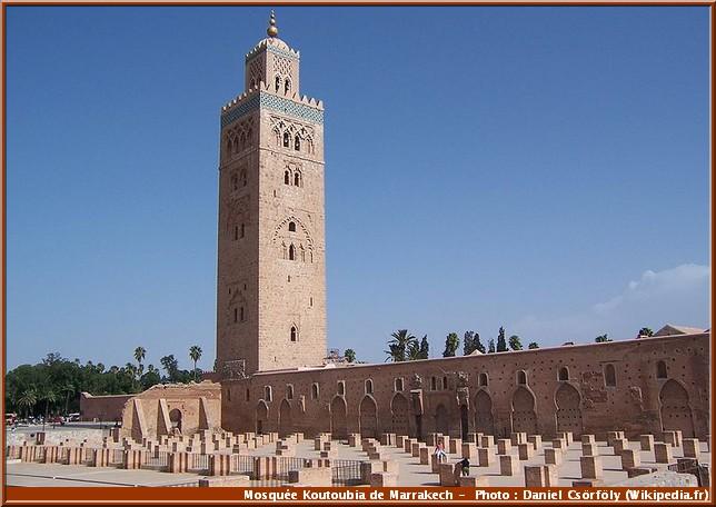 marrakech mosquee koutoubia