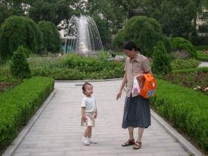 mere et enfant chinois