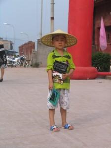 petit garçon chinois