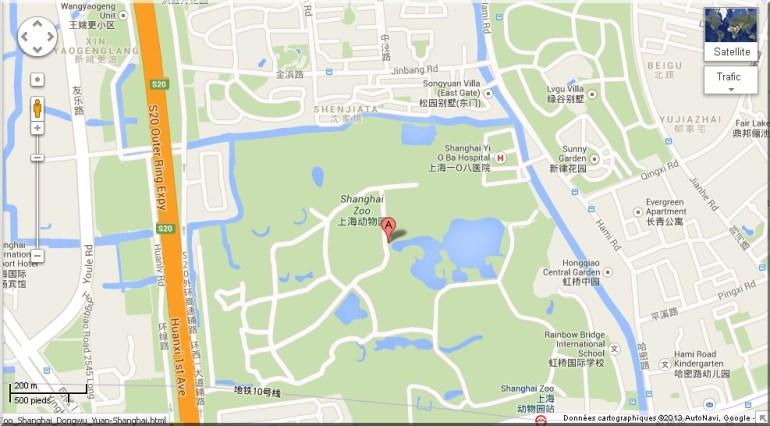plan shanghai zoo