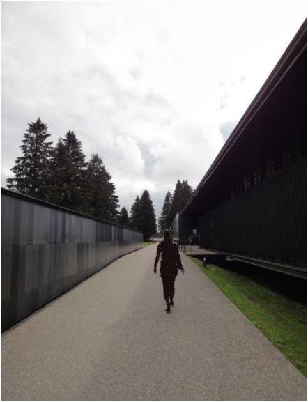 Natzweiler Struthof entree camp concentration nazi alsace