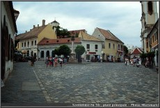 Szentendre Fo ter place principale