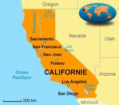 carte californie